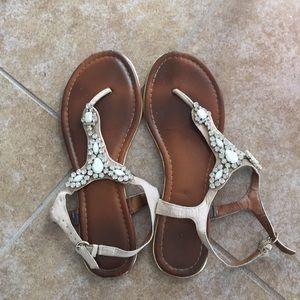Classy flat sandals